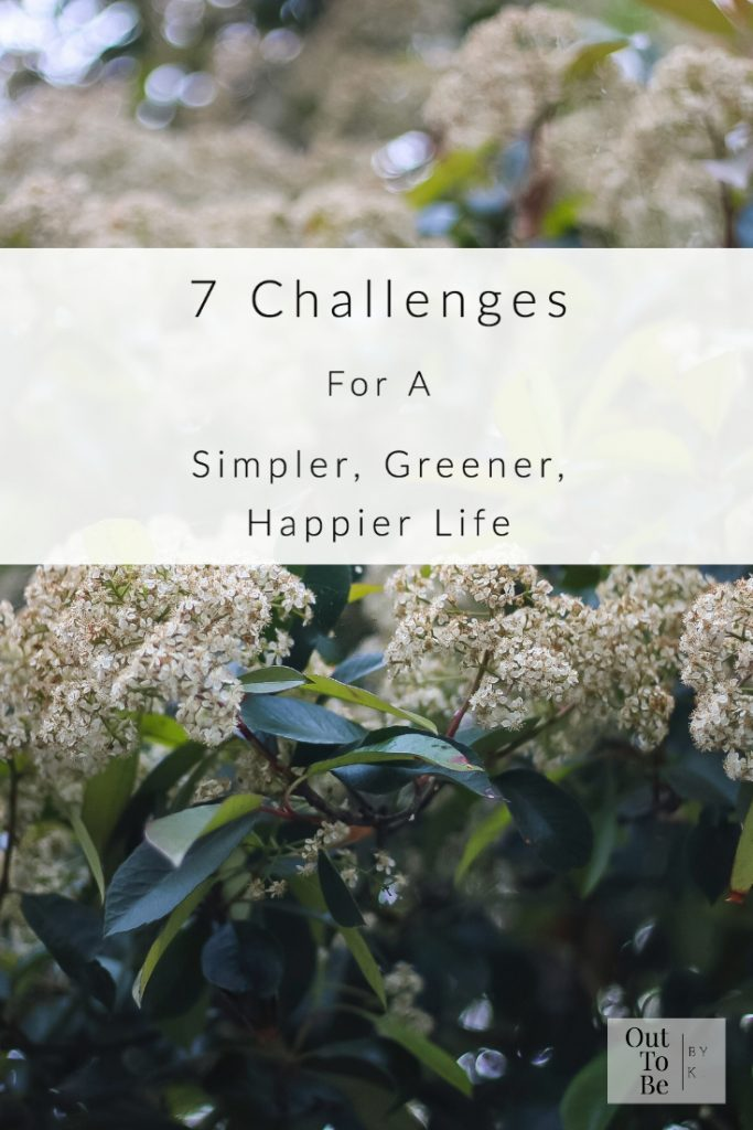 7 Challenges For A Simpler, Greener, Happier Life
