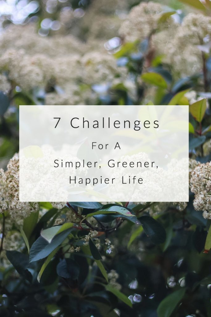 7 challanges for a simpler, greener, happier life