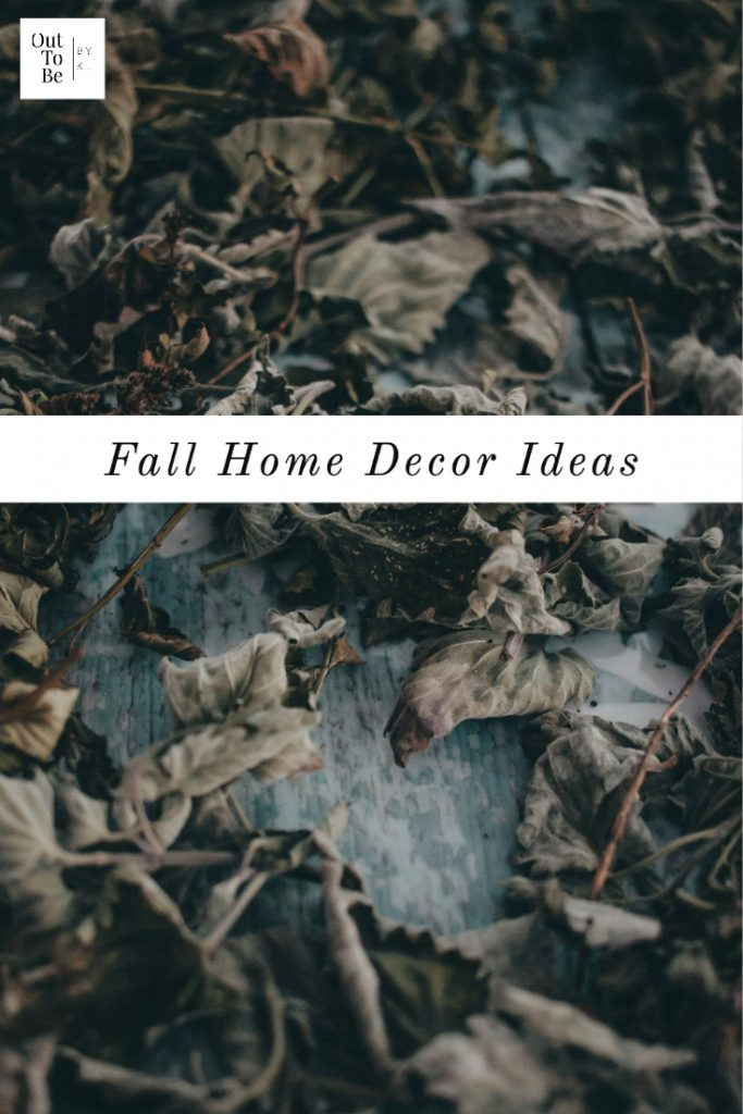 It's Time For Fall Home Decor Ideas 2020