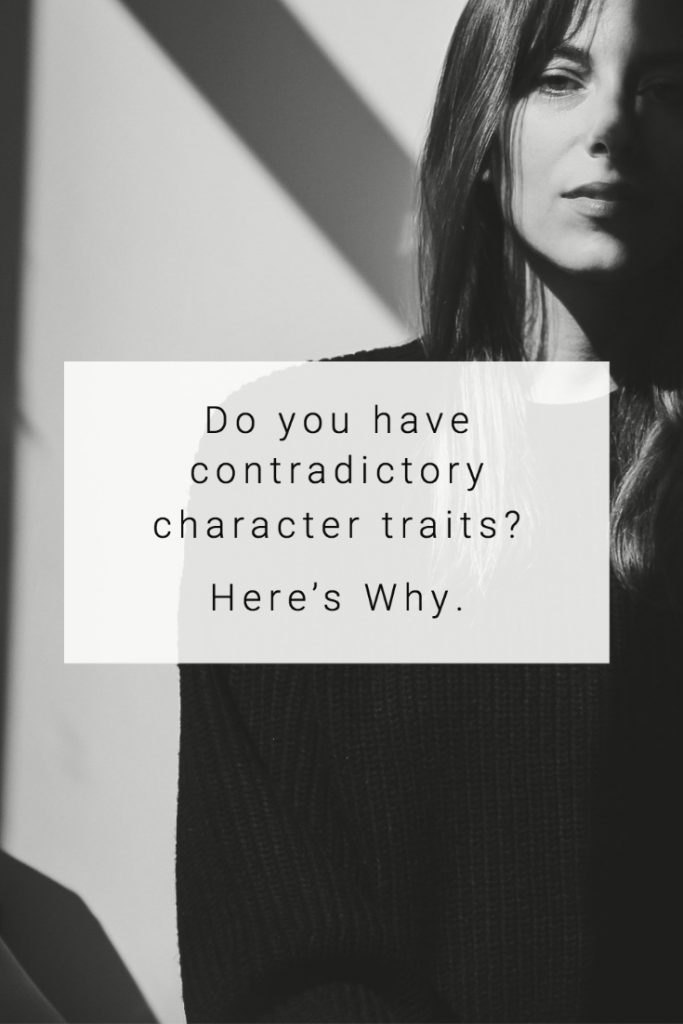 Having contradictory character traits?