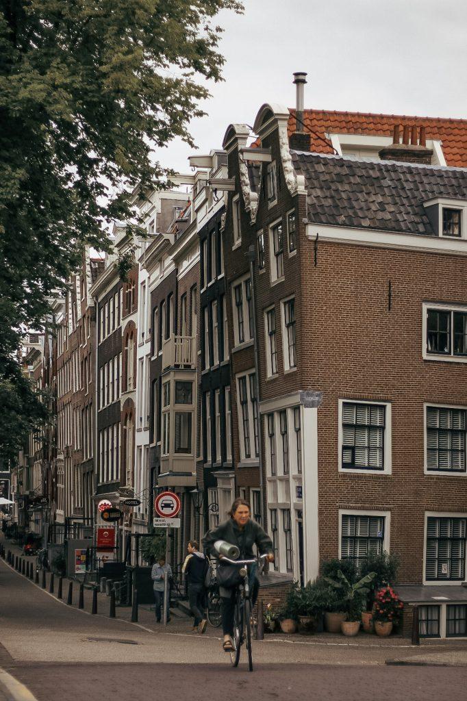 Amsterdam bikers