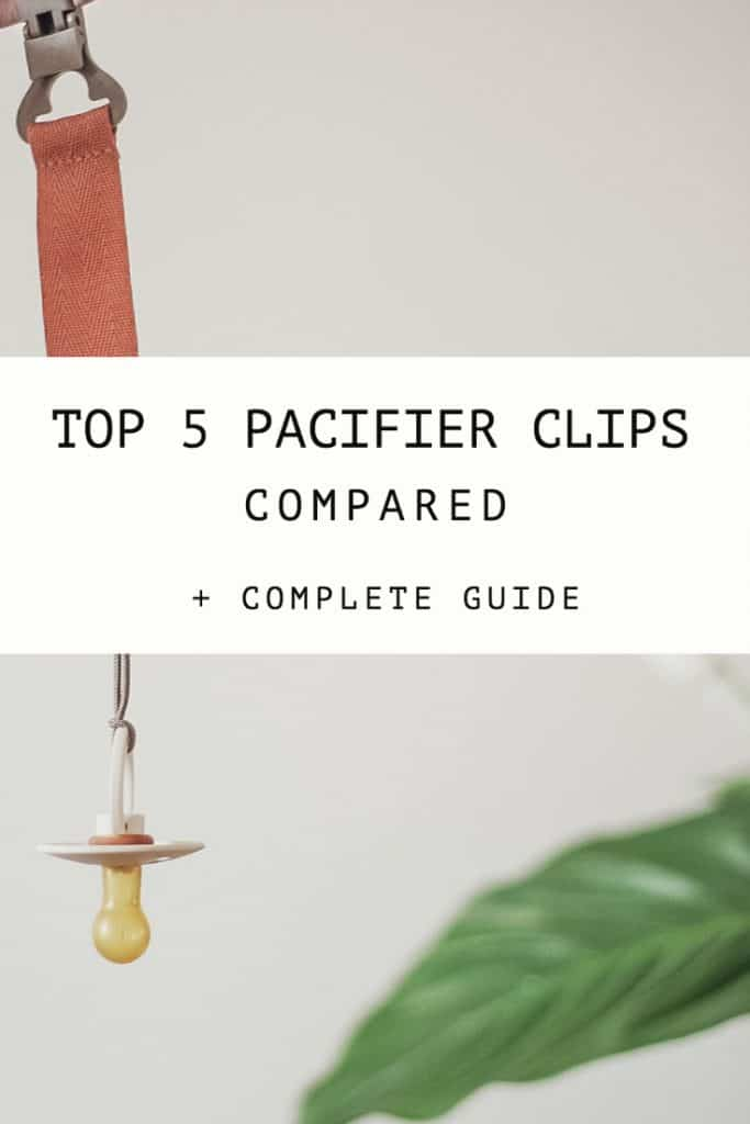 Top 5 Best Pacifier Clips Compared + Complete User Guide