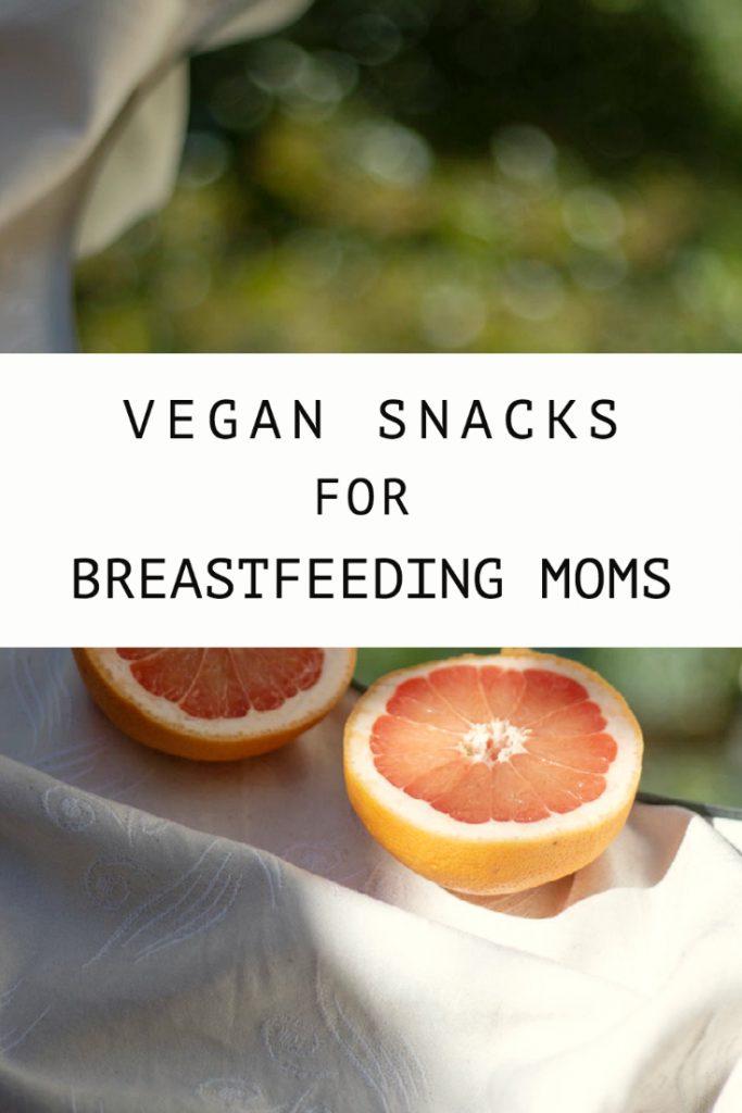 23 Vegan Snacks For Breastfeeding Moms