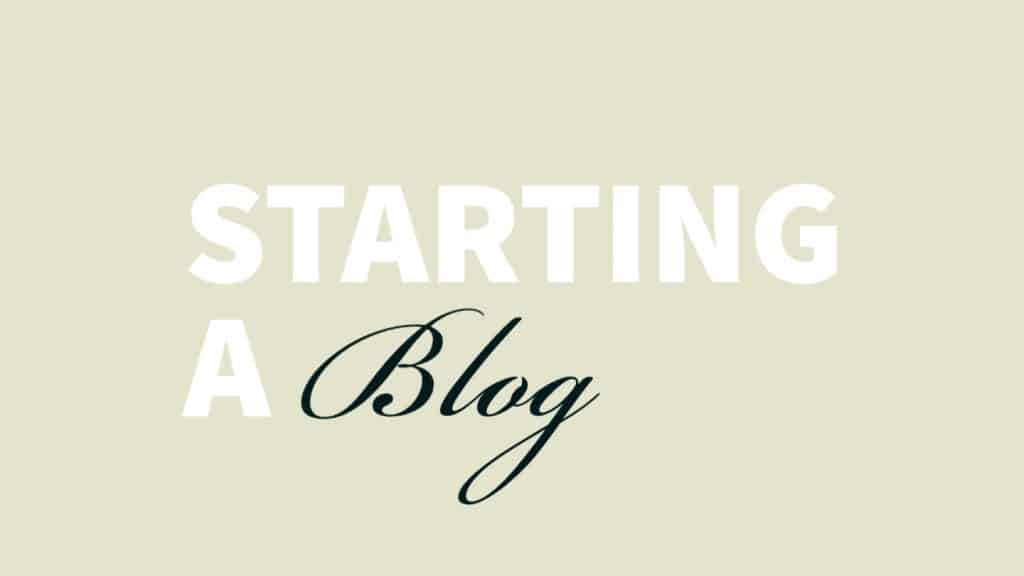 5 Things you NEED to know when starting a blog that they don't tell you