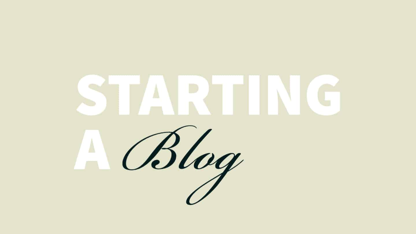 You are currently viewing 5 Things you NEED to know when starting a blog that they don't tell you