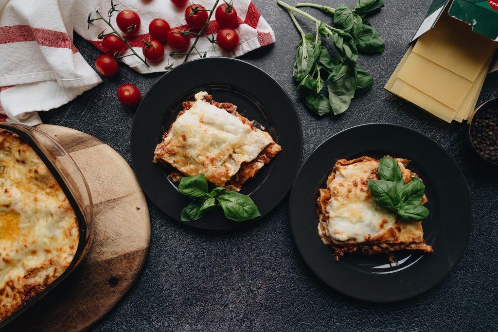 vegan lasagna comfort food